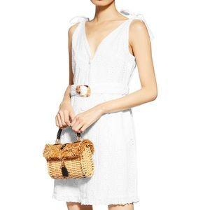 NWT White Topshop Eyelet Dress